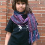 Thea with the Boku Scarf